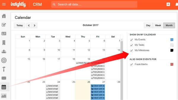 The Insightly Calendar – Insightly Help Center intended for Insightly Outlook Calendar Image