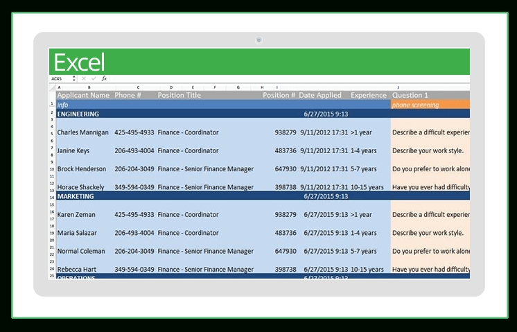 Top Excel Templates For Human Resources | Smartsheet with regard to Human Resource Monthly Template