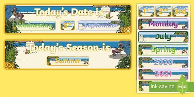 Tropical Pineapple Calendar (Teacher Made) intended for Day 86 In Ordinal Calander