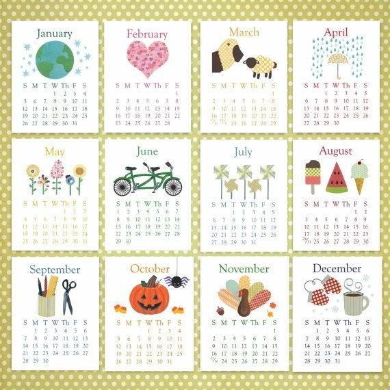 Unavailable Listing On Etsy | Calendar Printables, Calendar throughout Free No Frills Free Calendar