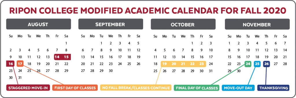 Update From One Merriman Lane | Fall 2020 Academic Calendar with regard to Liberty Academic Calendar D Term