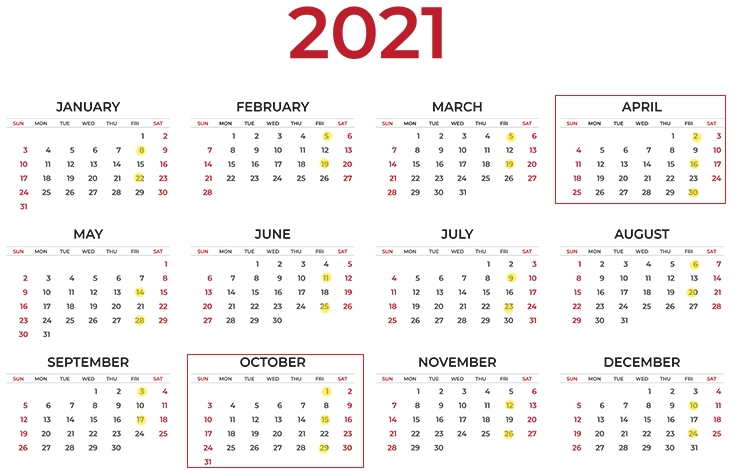When Are The Three Paycheck Months In 2021? When 3 Paychecks with Us 2Weekly Pay Day Calander Image