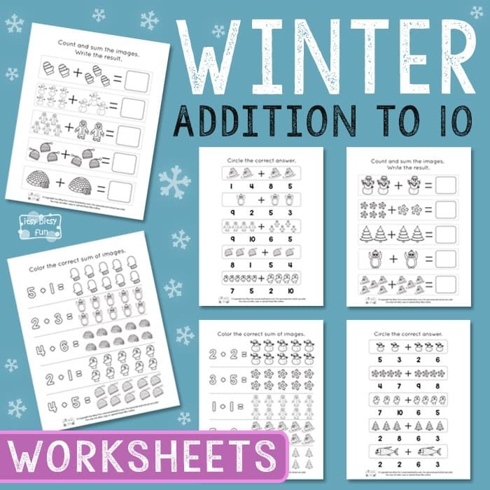 Winter Worksheet Archives - Itsybitsyfun inside Itbsy Bitsy Fun Calendars Photo