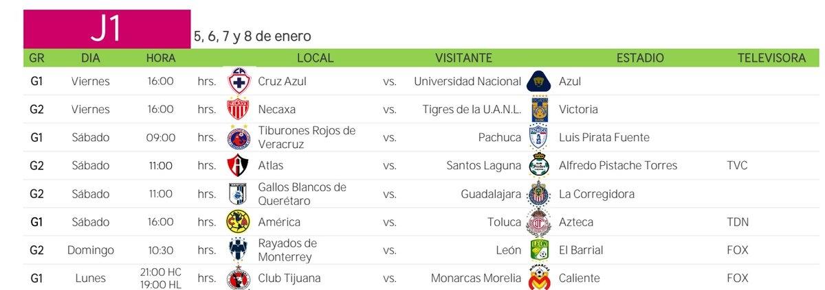 Xolos Ya Conoce Su Calendario Para El Clausura 2018 pertaining to Calendario Xolos Tijuana Photo