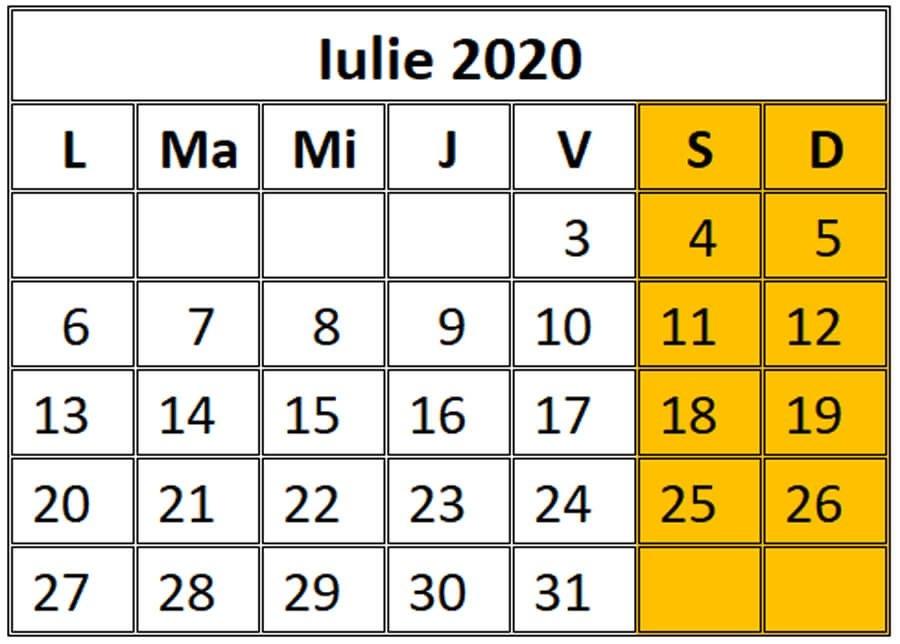 03 Ianuarie 2020 Calendar - Despre Viața Din România regarding Calendar Romania Zile Libere 2021 Image