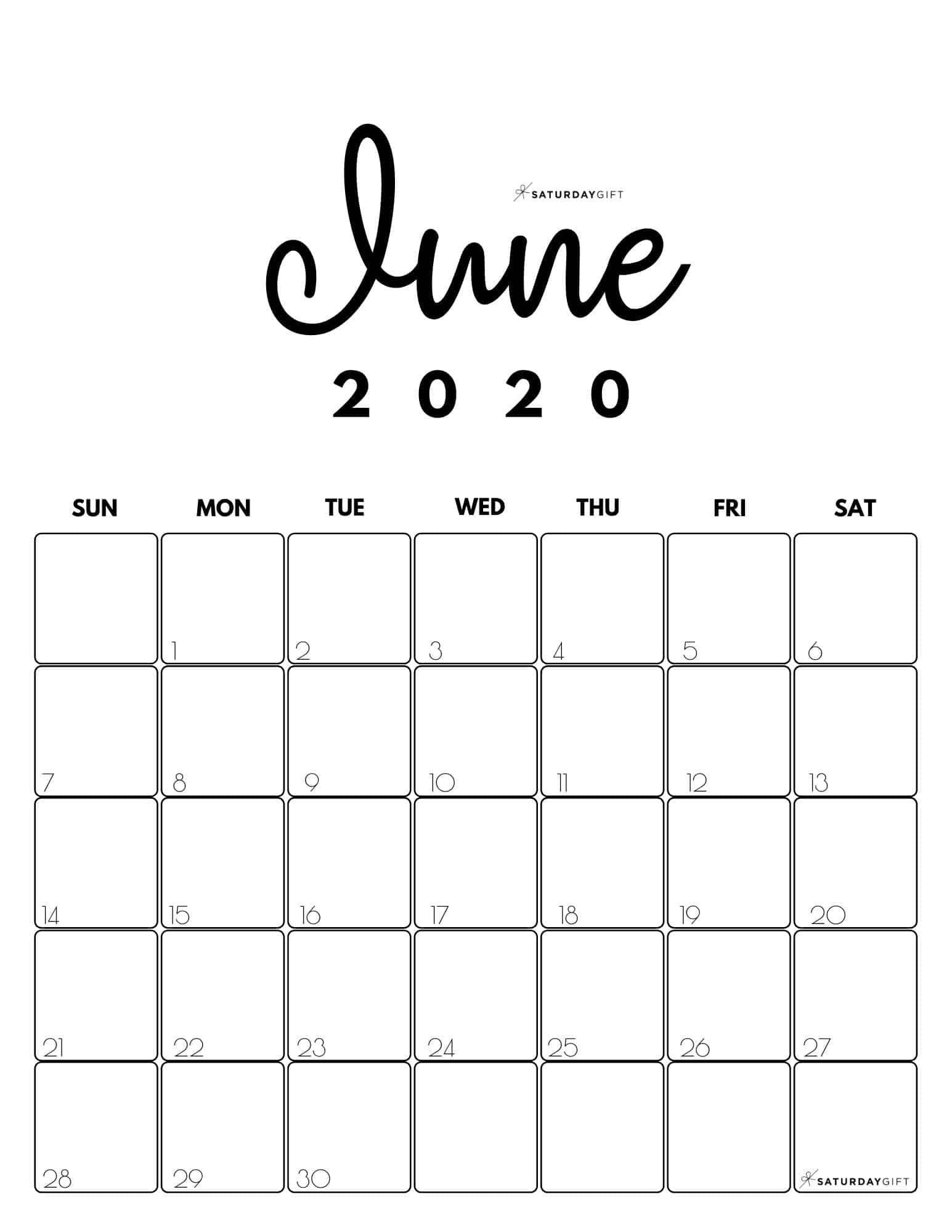 20+ June 2021 Calendar - Free Download Printable Calendar Templates ️ with June Editable Calendar 2021