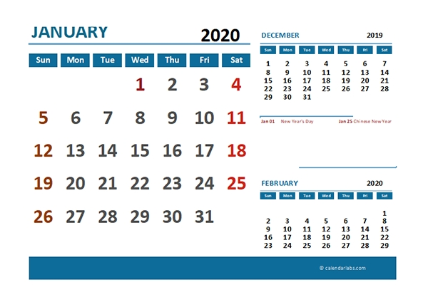 2020 Excel Calendar With Philippines Holidays - Free Printable Templates intended for 2021 Calendar Philippine Holidays