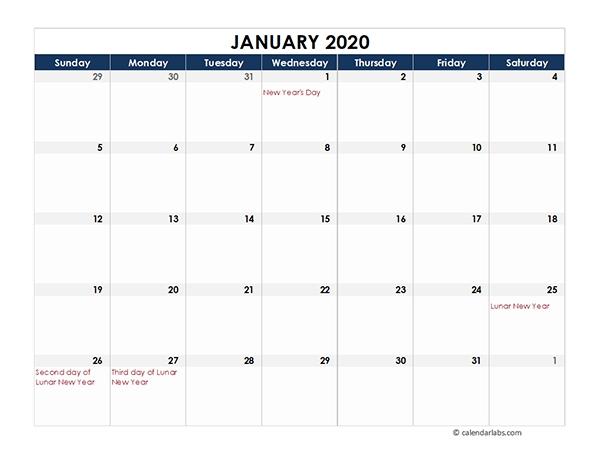 2020 Hong Kong Calendar Spreadsheet Template - Free Printable Templates with regard to 2021 Calendar Hong Kong Download