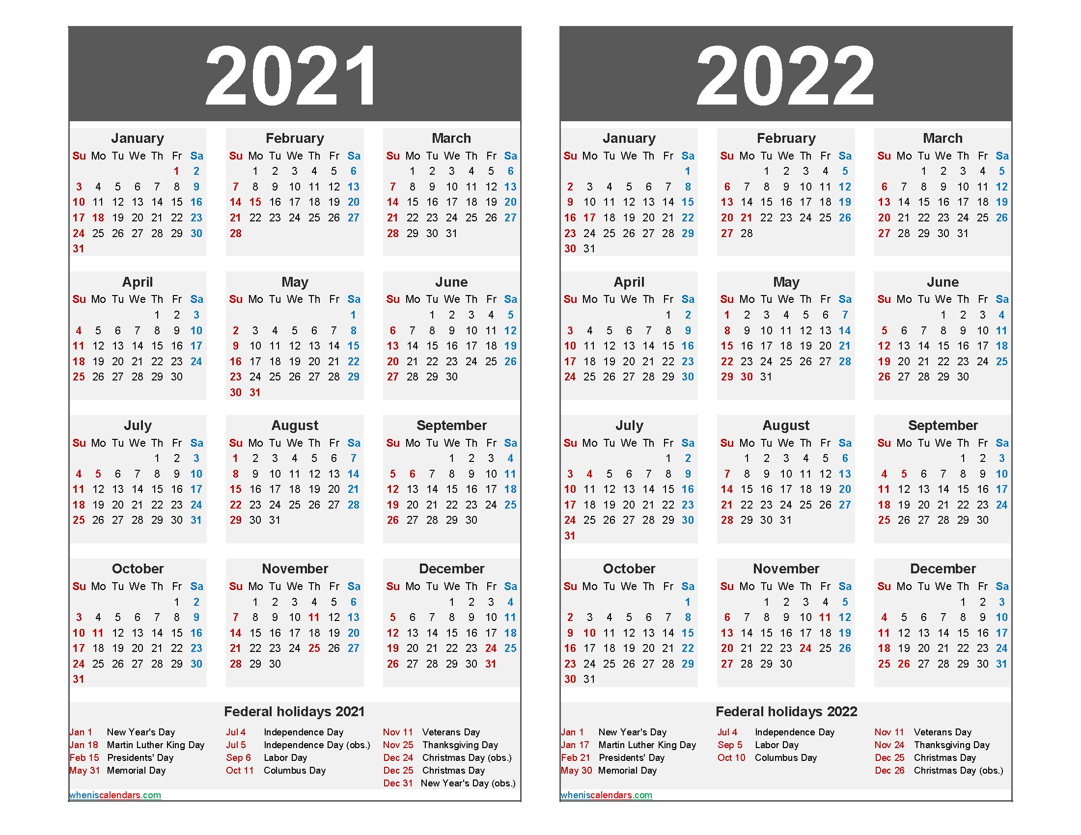 2021 And 2022 Calendar Printable With Holidays Word, Pdf - Free Printable 2020 Monthly Calendar intended for 2021 2022 Calendar Printable One Page Photo