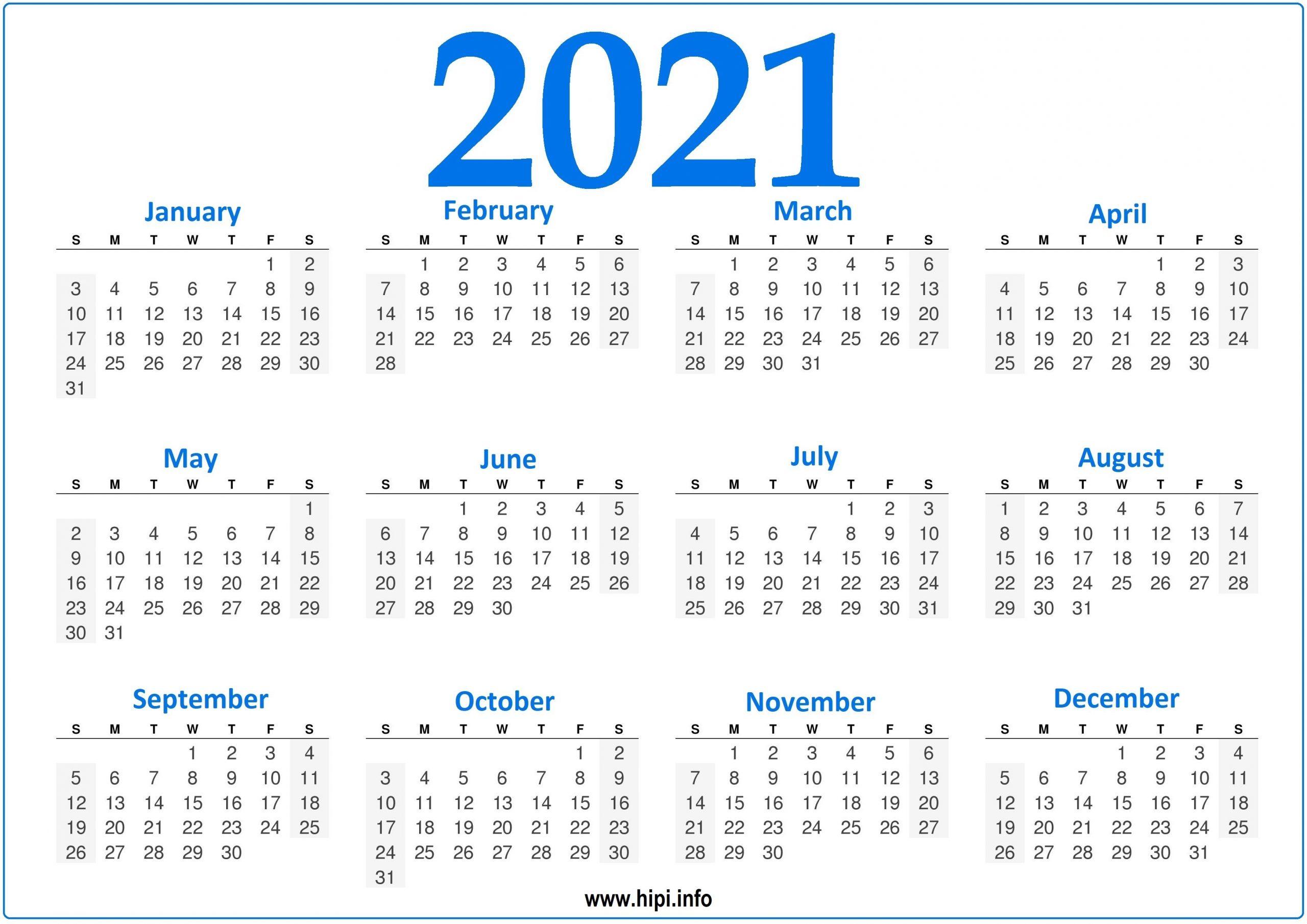 2021 Calendar Editable Free - Free Fully Editable 2021 Calendar Template In Word : Download And regarding Printable Calendars For 2021 Graphics