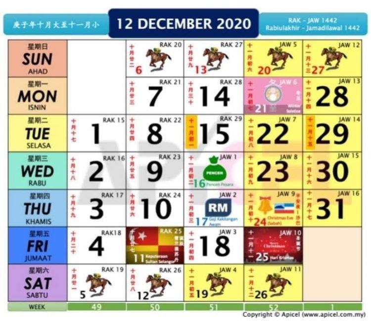 2021 Calendar Kuda - Nexta intended for Cuti Umum Calendar Kuda 2021