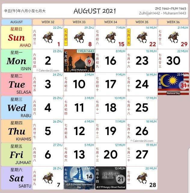2021 Calendar Kuda - Nexta with Kalendar Kuda 2021 Download