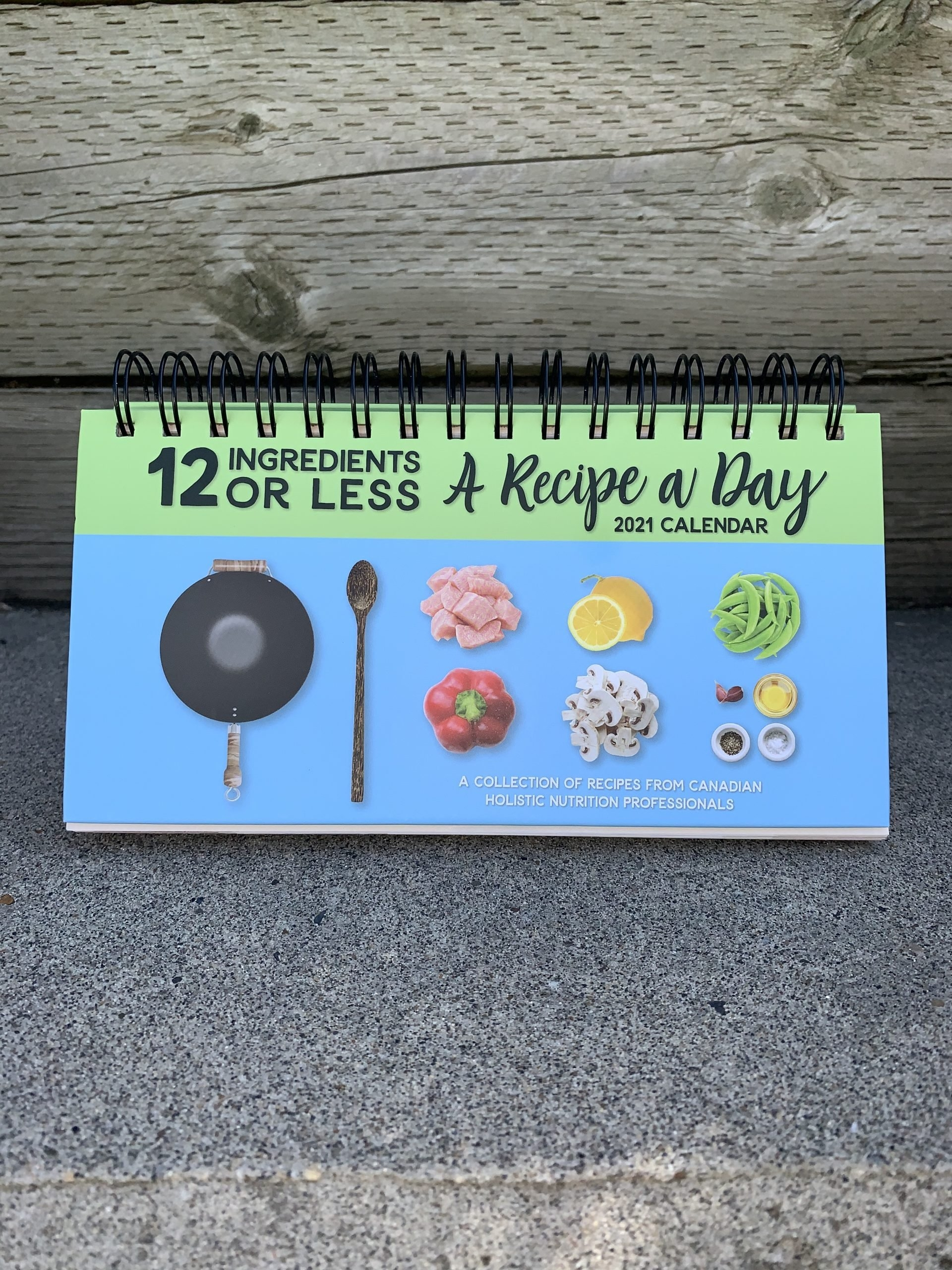 2021 Calendar Preorders: 12 Ingredients Or Less - A Recipe A Day - Reknew inside 2021 Calendar With Days 1-365 Image
