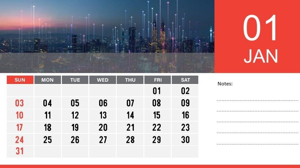2021 Calendar Template For Powerpoint | Free Download | Download Free Powerpoint Templates with regard to Ppt Calendar Template 2021 Photo