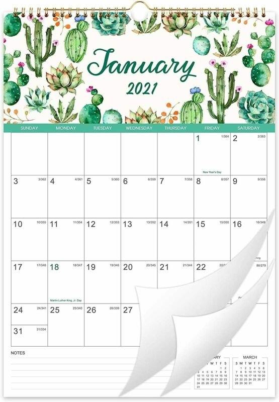 "2021 Calendar - Wall 2021, 12"" X 17"", Jan 2021 -Dec 12"" X 17"", White   Ebay pertaining to 4 5 4 Calendar 2021 Image"