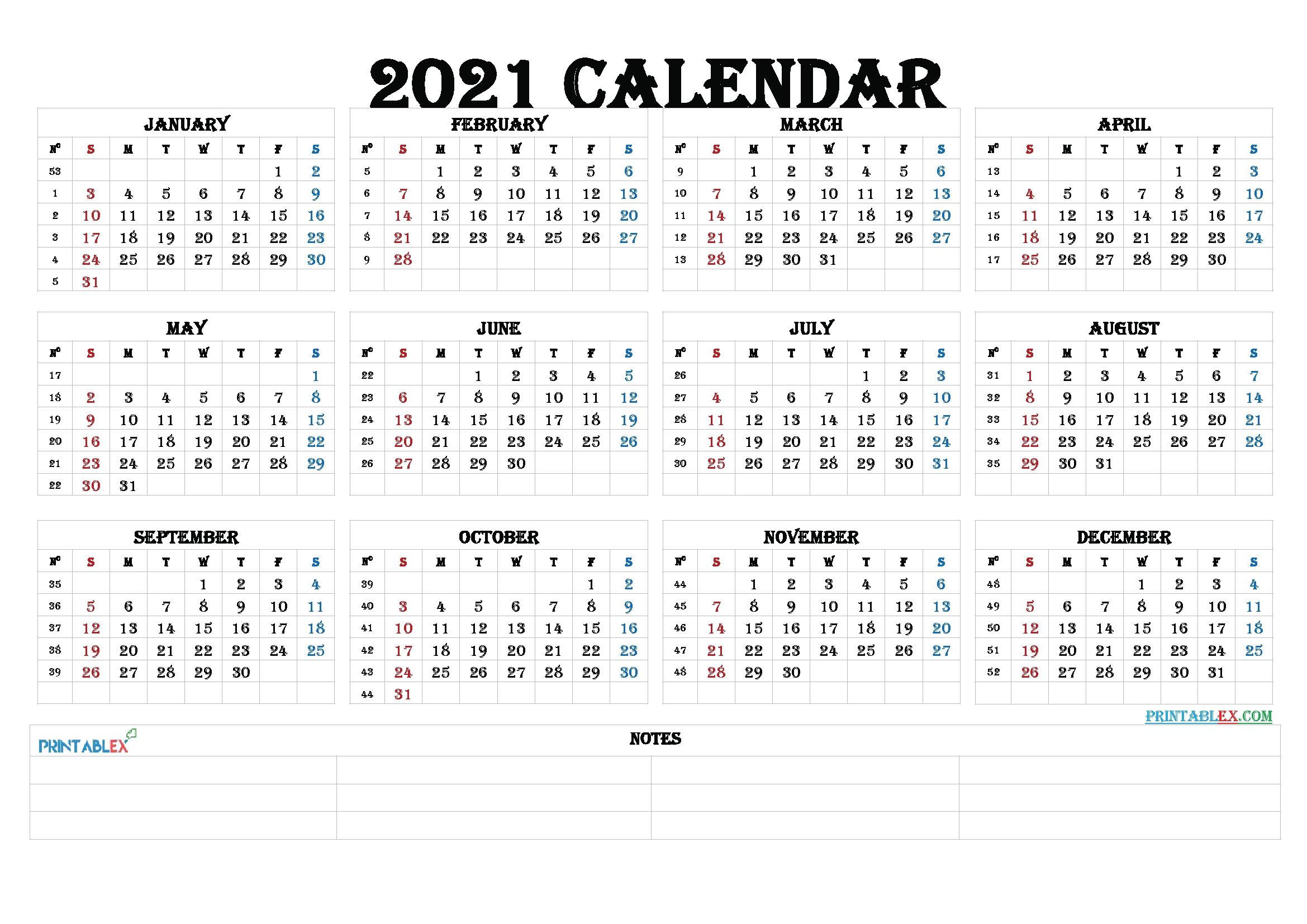 2021 Calendar With Week Numbers Printable regarding 2021 Australian Calendars To Print Photo