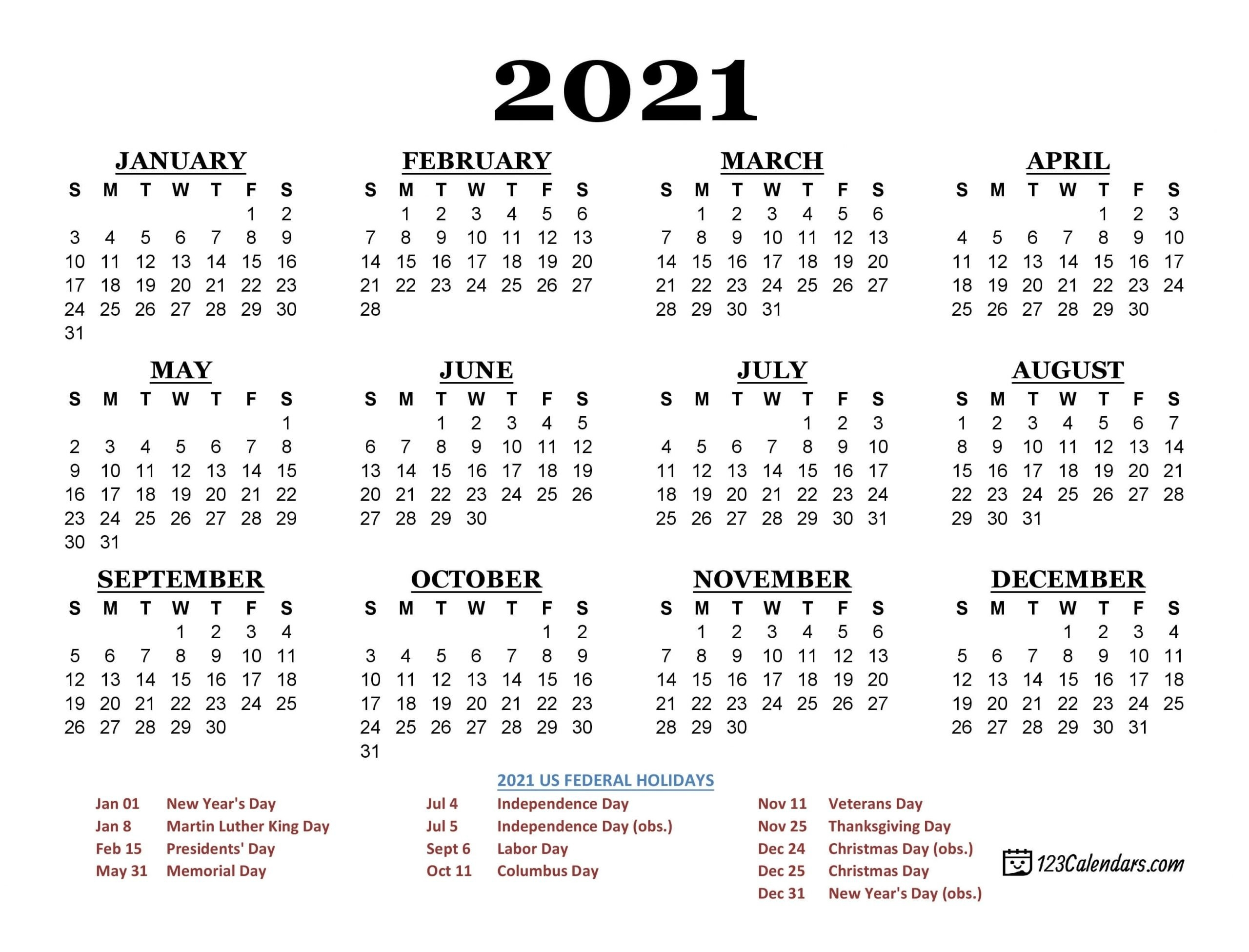 2021 Calendar You Can Wirte In | Calendar Template 2021 throughout Free Printable Monthly Calendar 2021 With Lines