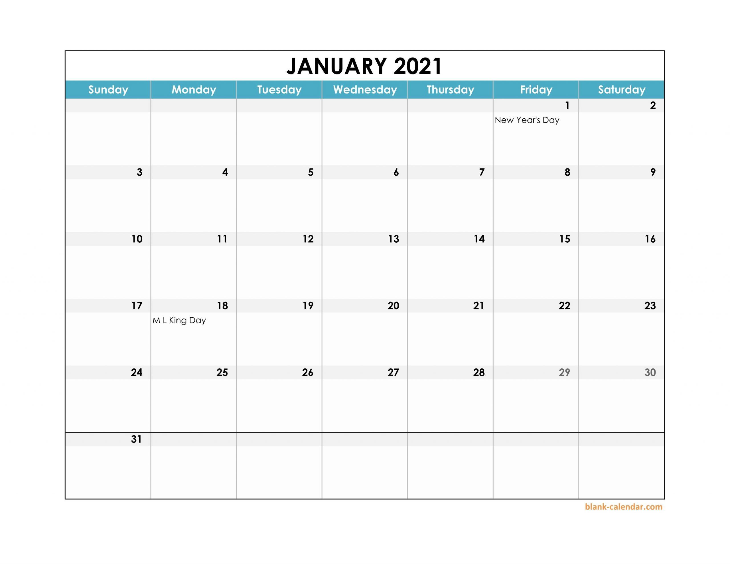 2021 Excel Calendar throughout Ppt Calendar Template 2021