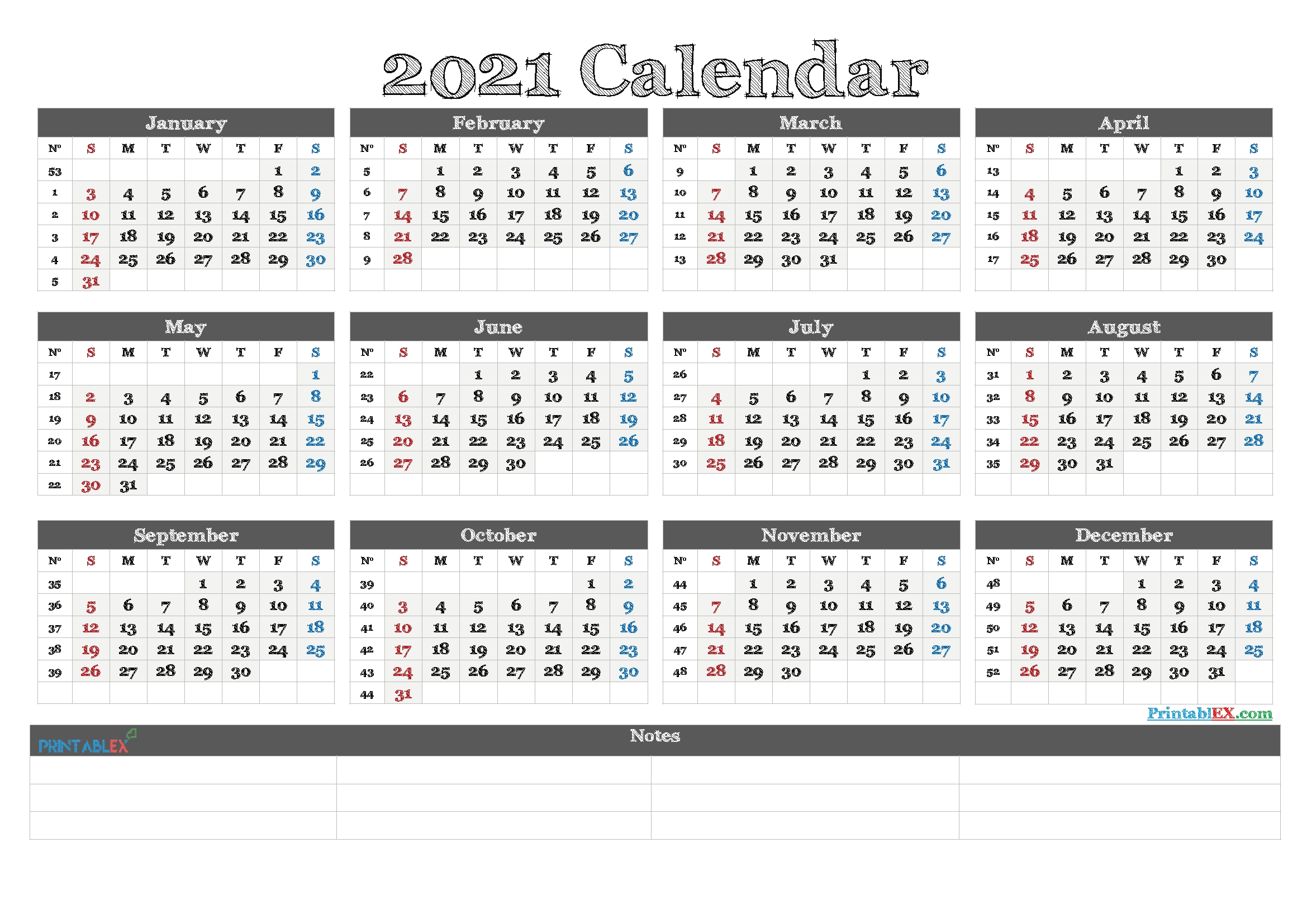 2021 Free Yearly Calendar Template Word - 21Ytw81 regarding Calendar Templates 3 Months Per Page 2021 Graphics