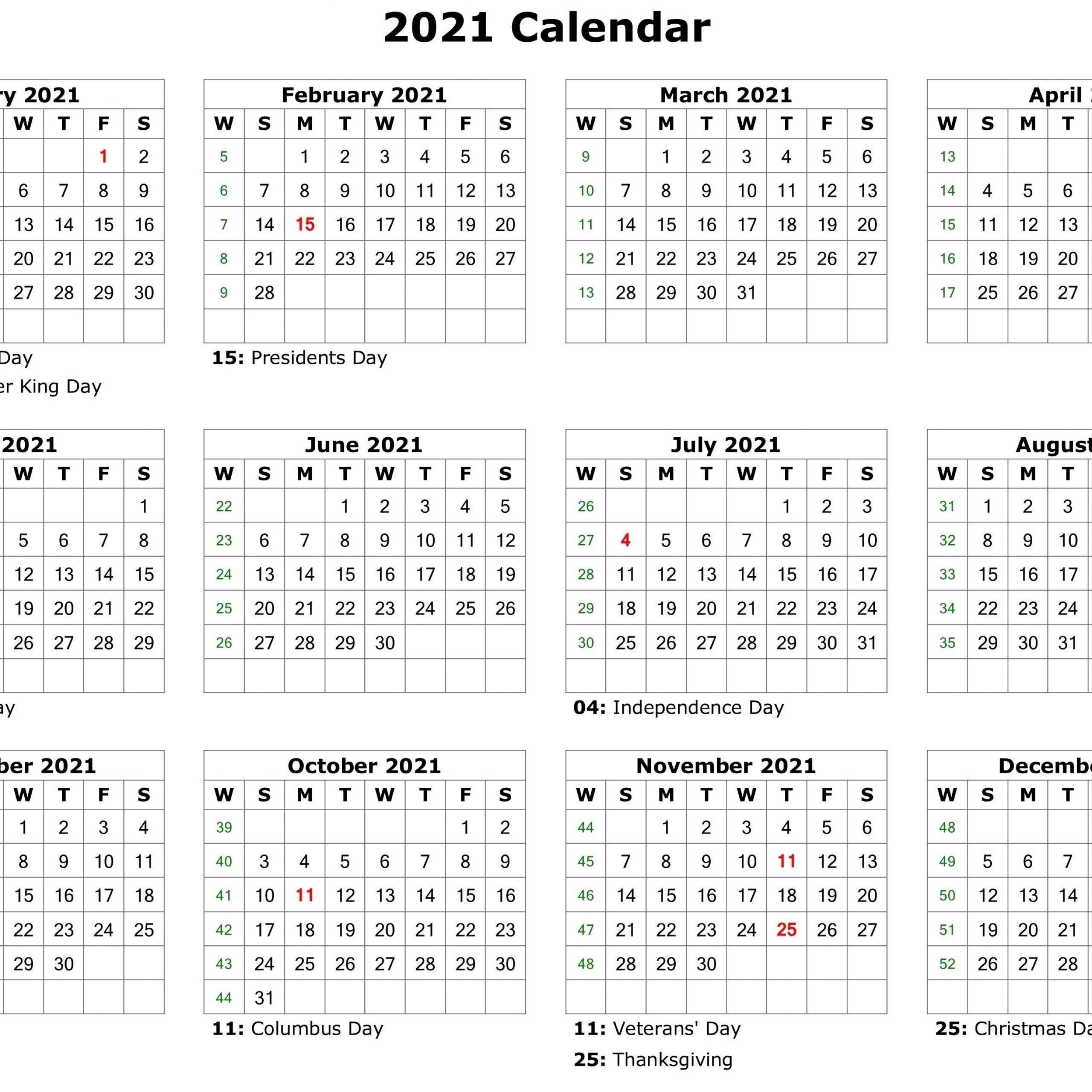 2021 Printable Calendar Holidays   Free Printable Calendar for 2021 Calendar Philippine Holidays