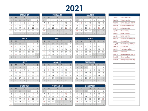 2021 South Africa Annual Calendar With Holidays - Free Printable Templates with South Australia Calendar 2021 Graphics