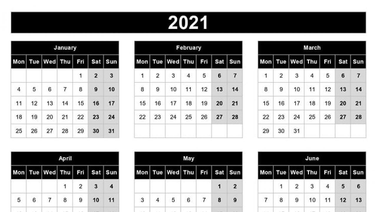 2021 Yearly Calendar Template Excel   Printable Calendars 2021 with regard to Illustrator 2021 Calendar Template