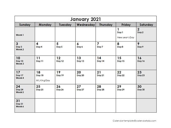2021 Yearly Julian Calendar 2021 - March 2021 in Julian Date Calendar For Year 2021