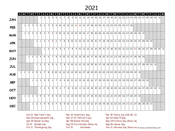 2021 Yearly Project Timeline Calendar Singapore - Free Printable Templates throughout Printable Calendar 2021 Singapore Photo