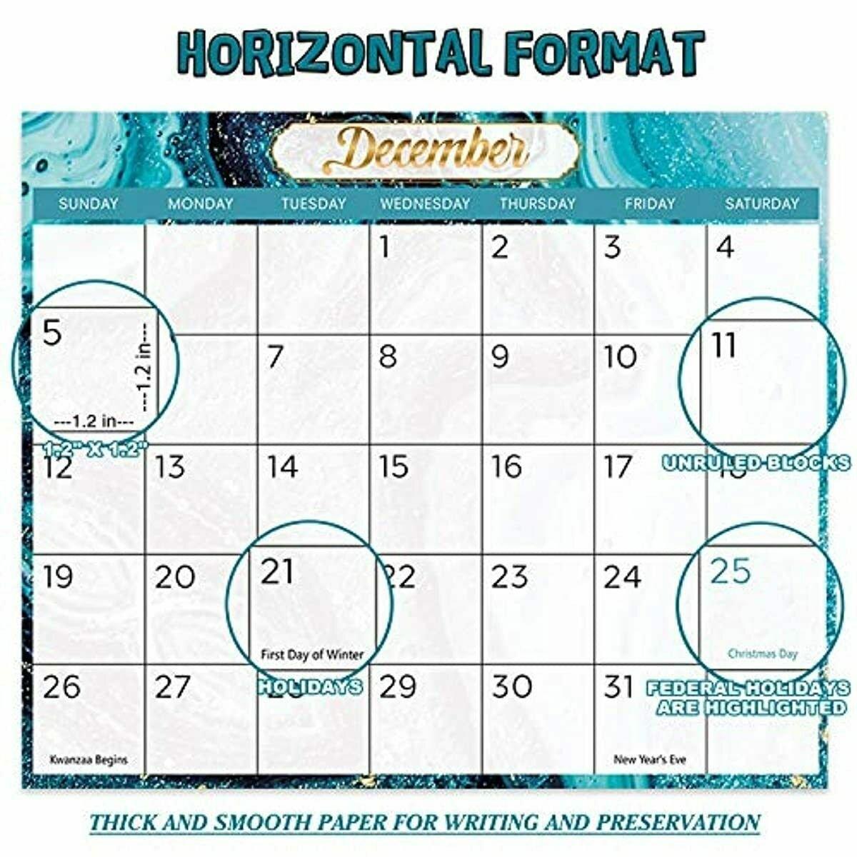 2021 Yearly Wall Calendar - 2021 Wall Calendar With Julian Date, From January To | Ebay inside Julian Date Calendar For Year 2021 Graphics