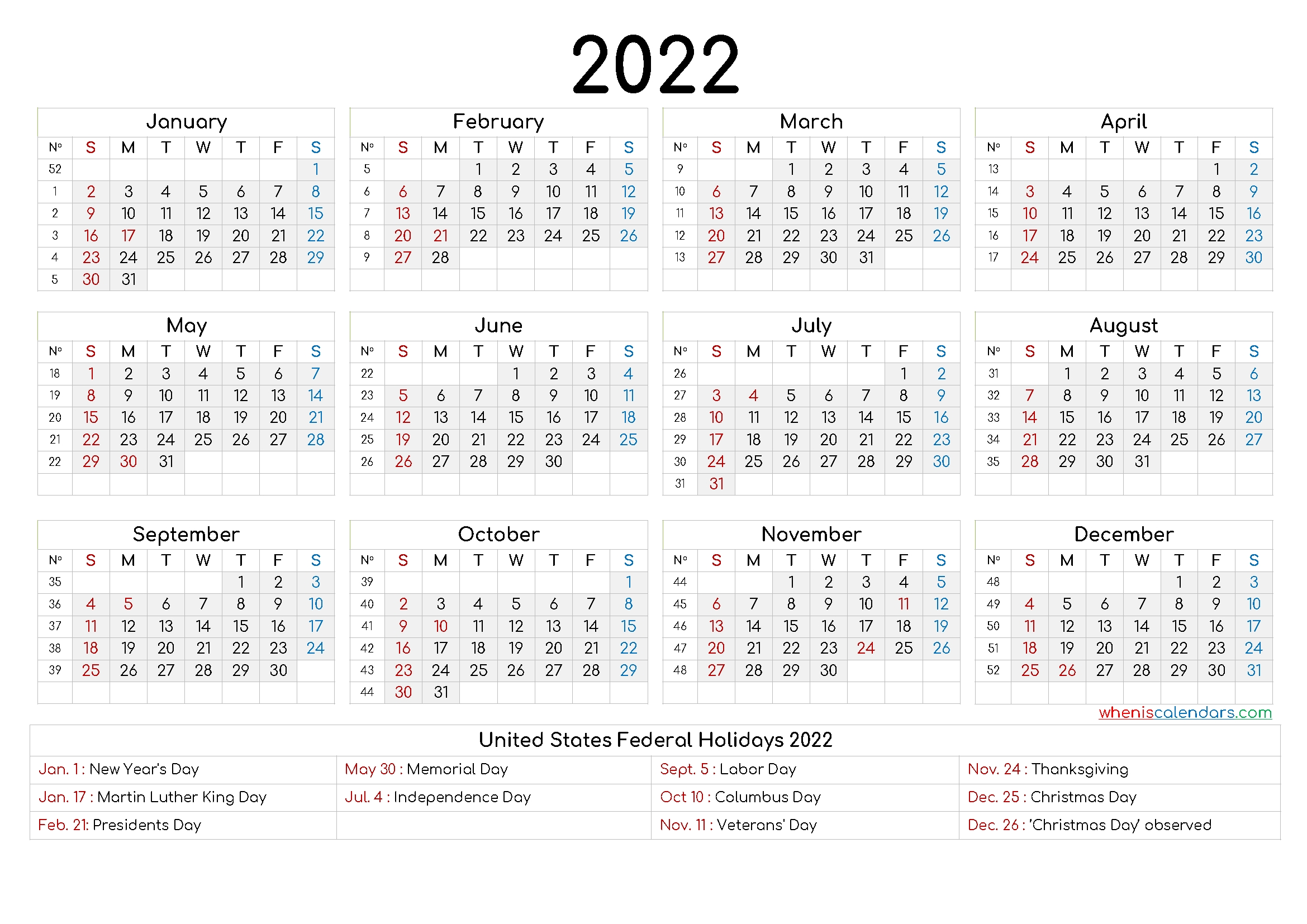 2022 Yearly Calendar Template Word - 9 Templates - Free 2020 And 2021 Calendar Printable Monthly for 2021 2022 Calendar Printable One Page Photo