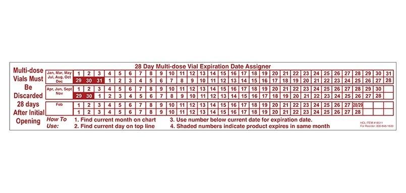 28 Day Expiration Date Calendar :-Free Calendar Template in 28 Day Multi Dose Vials Calendar 2021