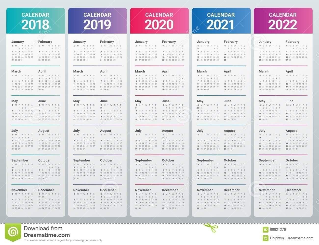 3 Year Calendar 2021 | Calendar Template Printable with 3 Year Printable Calendar 2021 2021 2022 Graphics