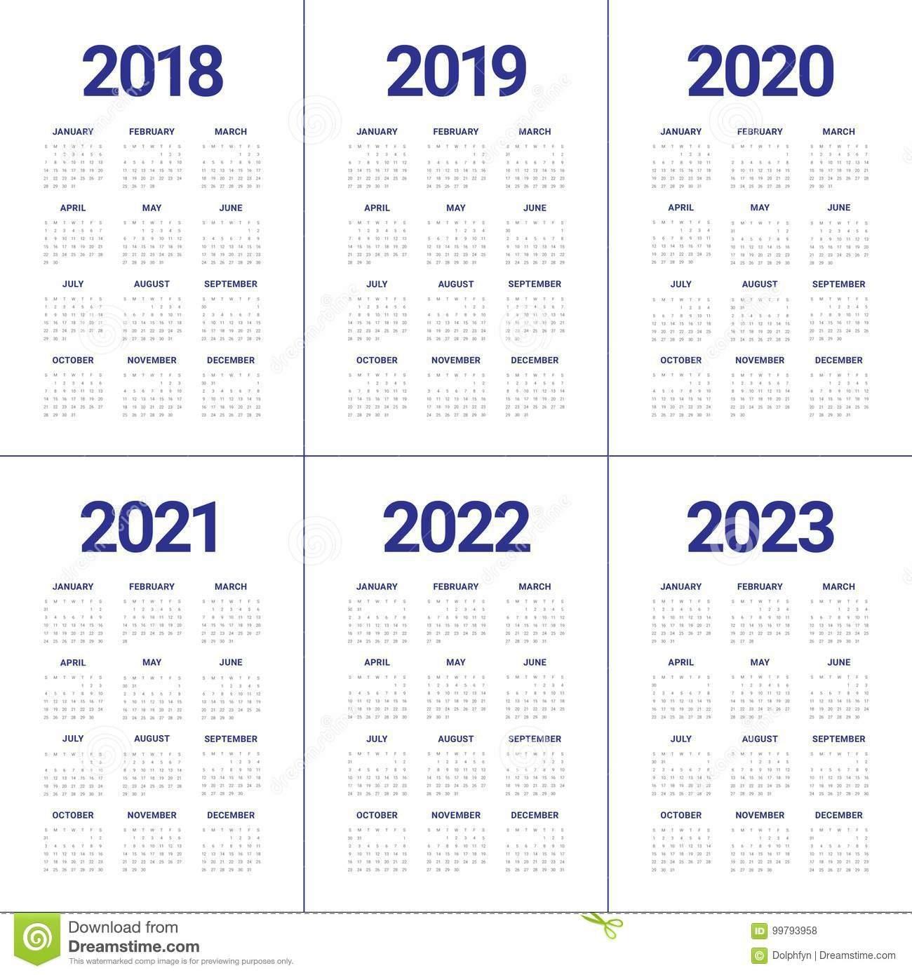 3 Year Calendar 2021 To 2023 | Calendar Printables Free Blank in 3 Year Printable Calendar 2021 2021 2022 Graphics
