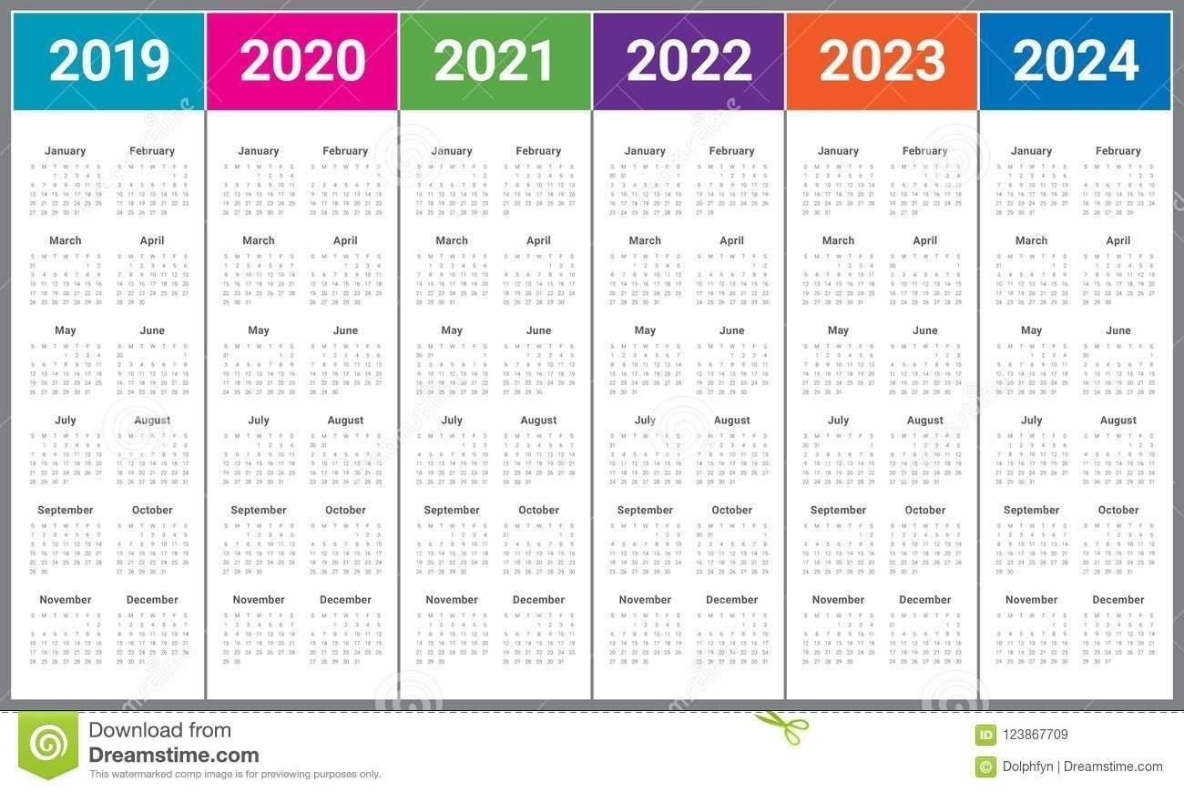 3 Year Calendar 2022 To 2024   Ten Free Printable Calendar 2020-2021 pertaining to Three Year Calendar 2019 2021 2021 Calendar Pedia Image
