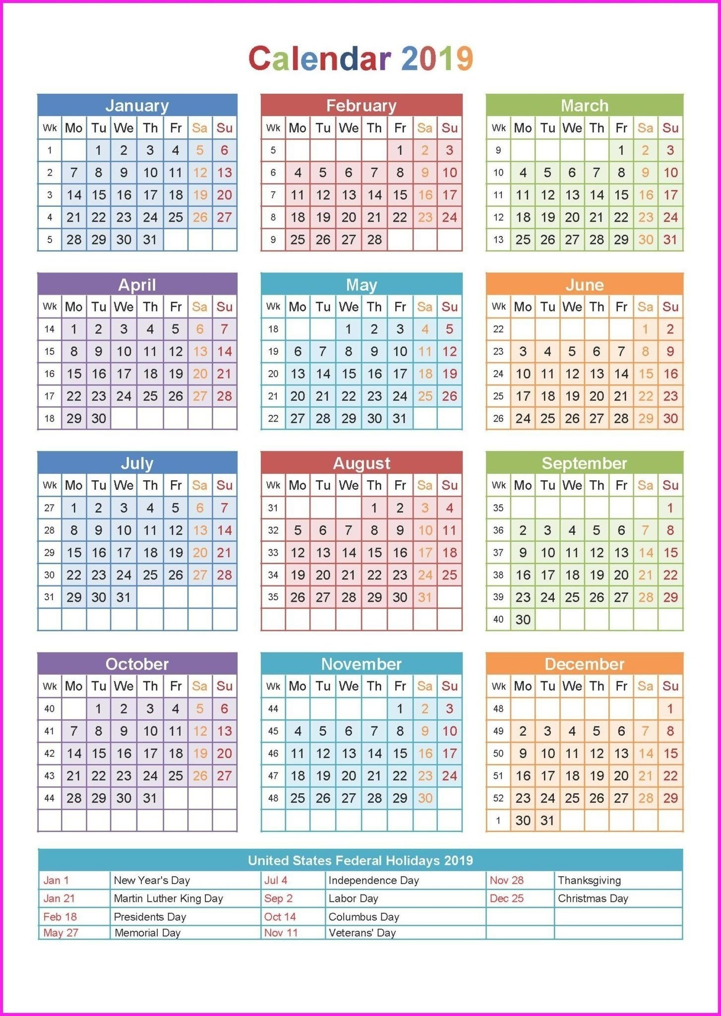 3 Year Calendar On One Page   Ten Free Printable Calendar 2020-2021 with Three Year Calendar 2019 2021 2021 Calendar Pedia