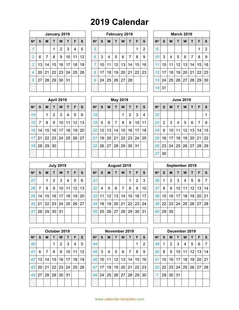5 Year Calendar On One Page | Ten Free Printable Calendar 2020-2021 regarding Yrdsb Calendar 2019 2021