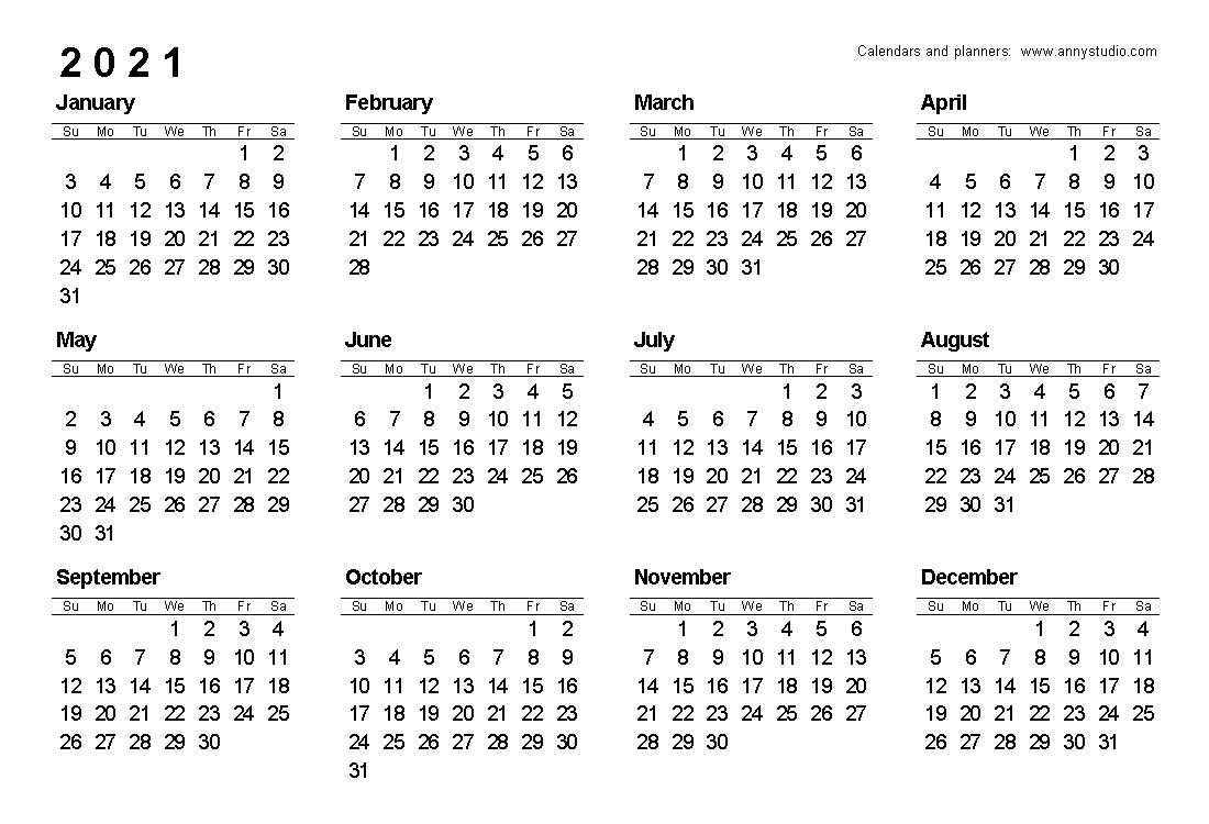 A5 Printable Calendar 2021 with regard to Calendar 2019 2021 2021 Printable Free