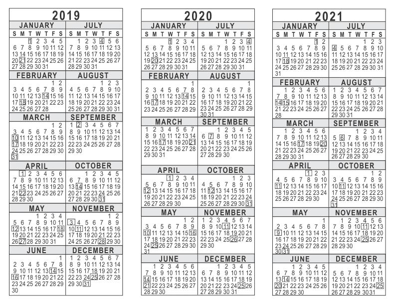Academic Calendars 20202021 Free Printable Pdf Templates pertaining to Yrdsb Calendar 2019 2021 Photo