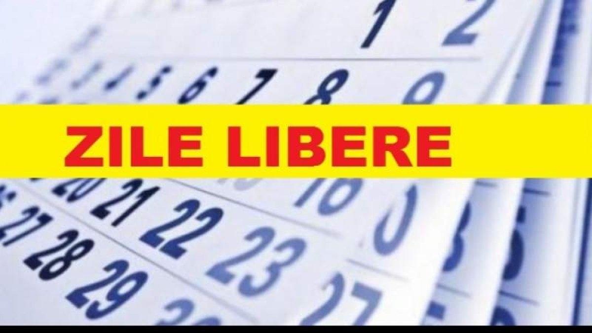 Anul 2021 Vine Cu 15 Zile Libere Legale Pentru Români. Mai Mult De Jumătate Cad În Weekend with Calendar Cu Zile Libere Legale Pentru 2021