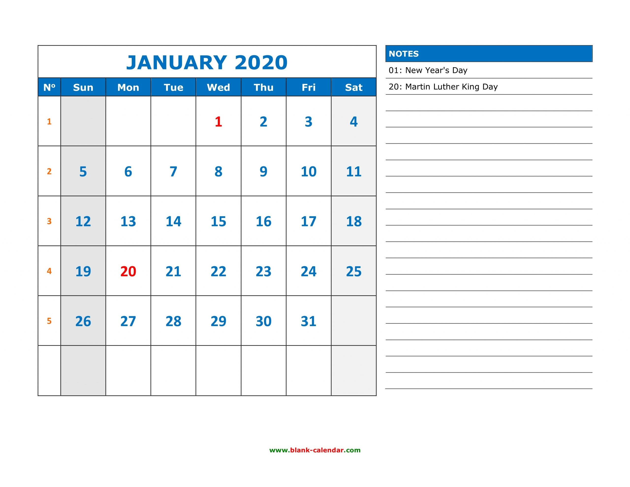 August 2020 Monthly Appointment   Example Calendar Printable intended for Free Calendars You Can Edit 2021 8 1/2 X 11 Image