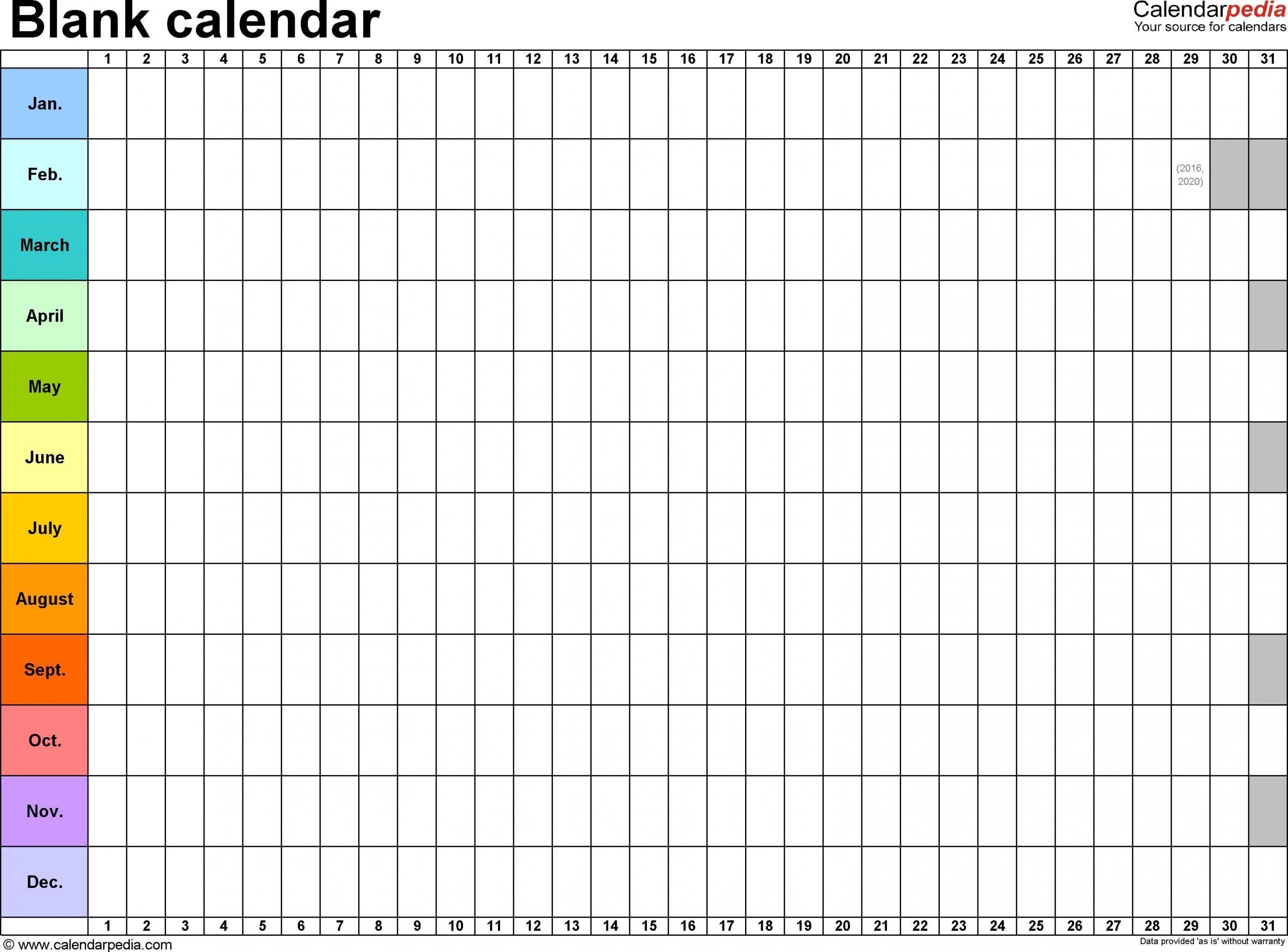 Blank Calendar Print Out | Blank Calendar Template, Monthly Calendar Printable, Printable Blank throughout Sample One Page Multi Year Calendars Image