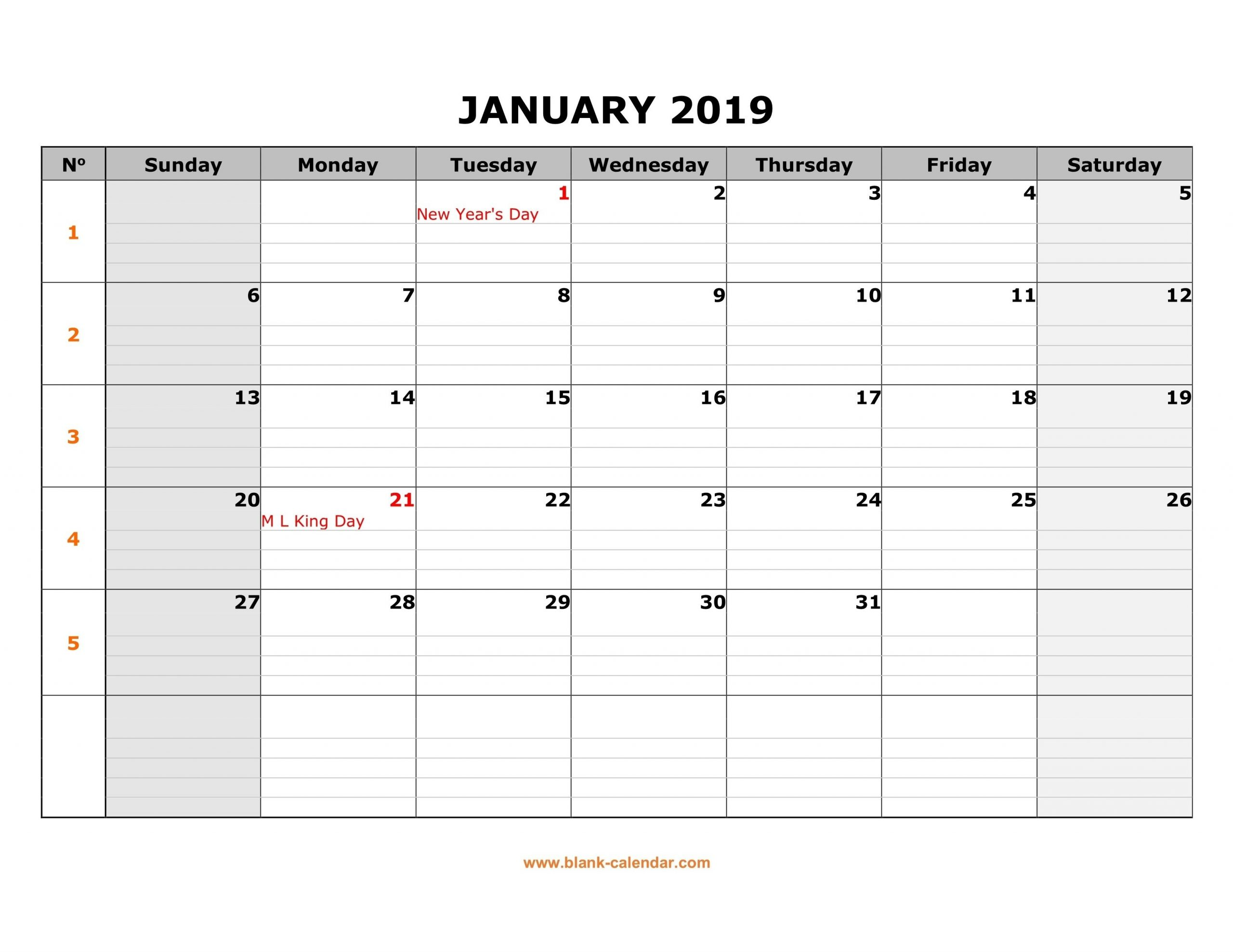 Blank Calenday Monyh Pages | Calendar Template Printable in Printable Largebox Grid Calendar 2021 Graphics