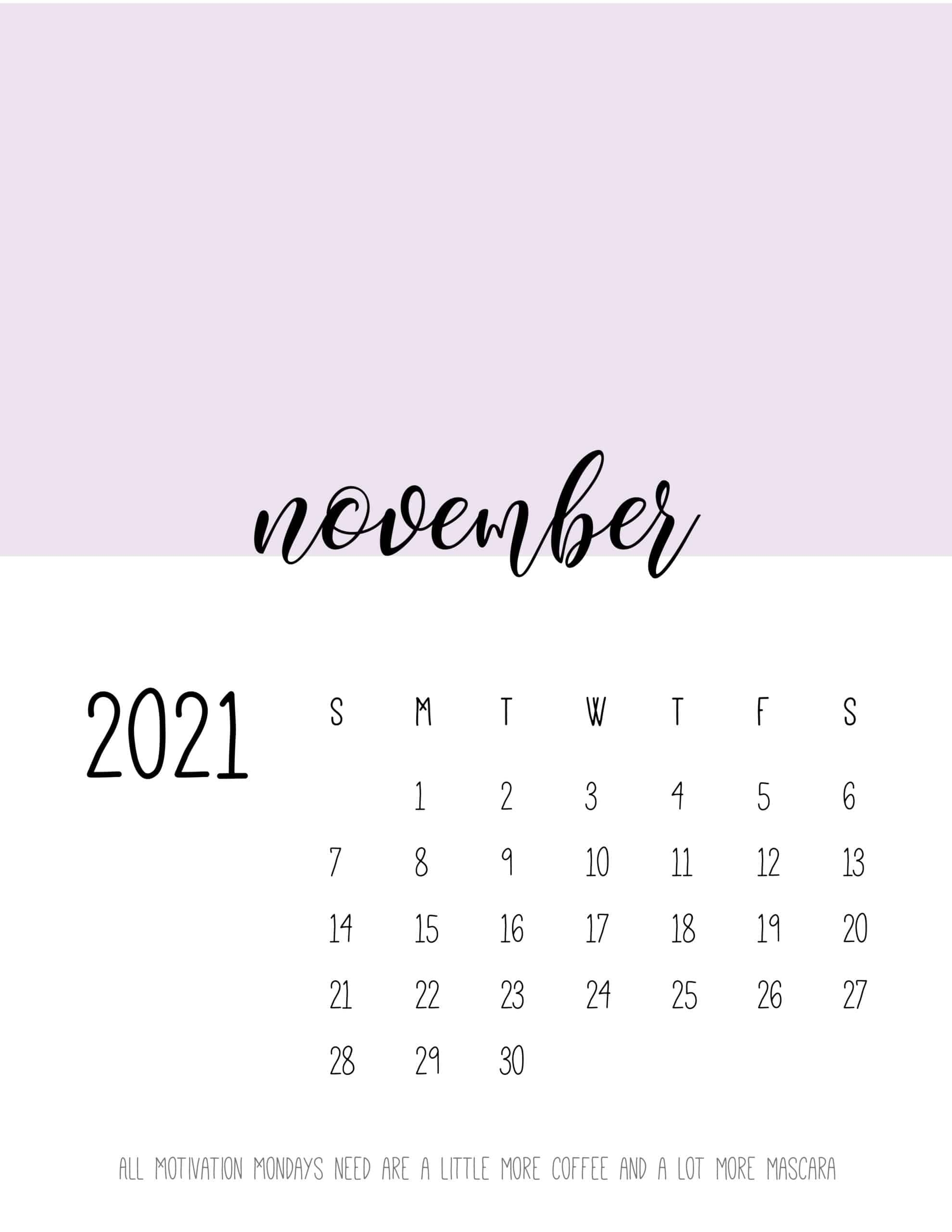 Block Color 2021 Calendar - World Of Printables with Which Calendar Year Match 2021 Graphics