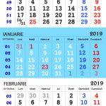 Calendar 2021 Zile Lucratoare Image