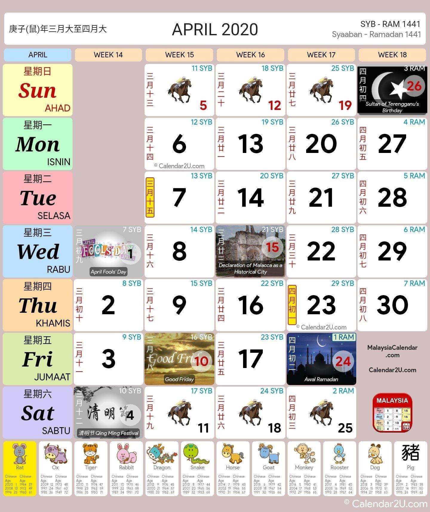 Calendar 2020 Bulan 3 | Month Calendar Printable intended for Kalendar Malaysia 2021 Tds Printable