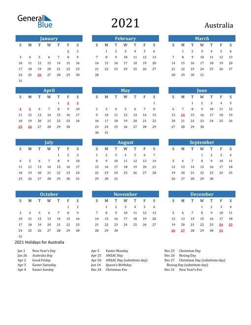 Calendar 2021 Australia   Qualads with regard to South Australia Calendar 2021