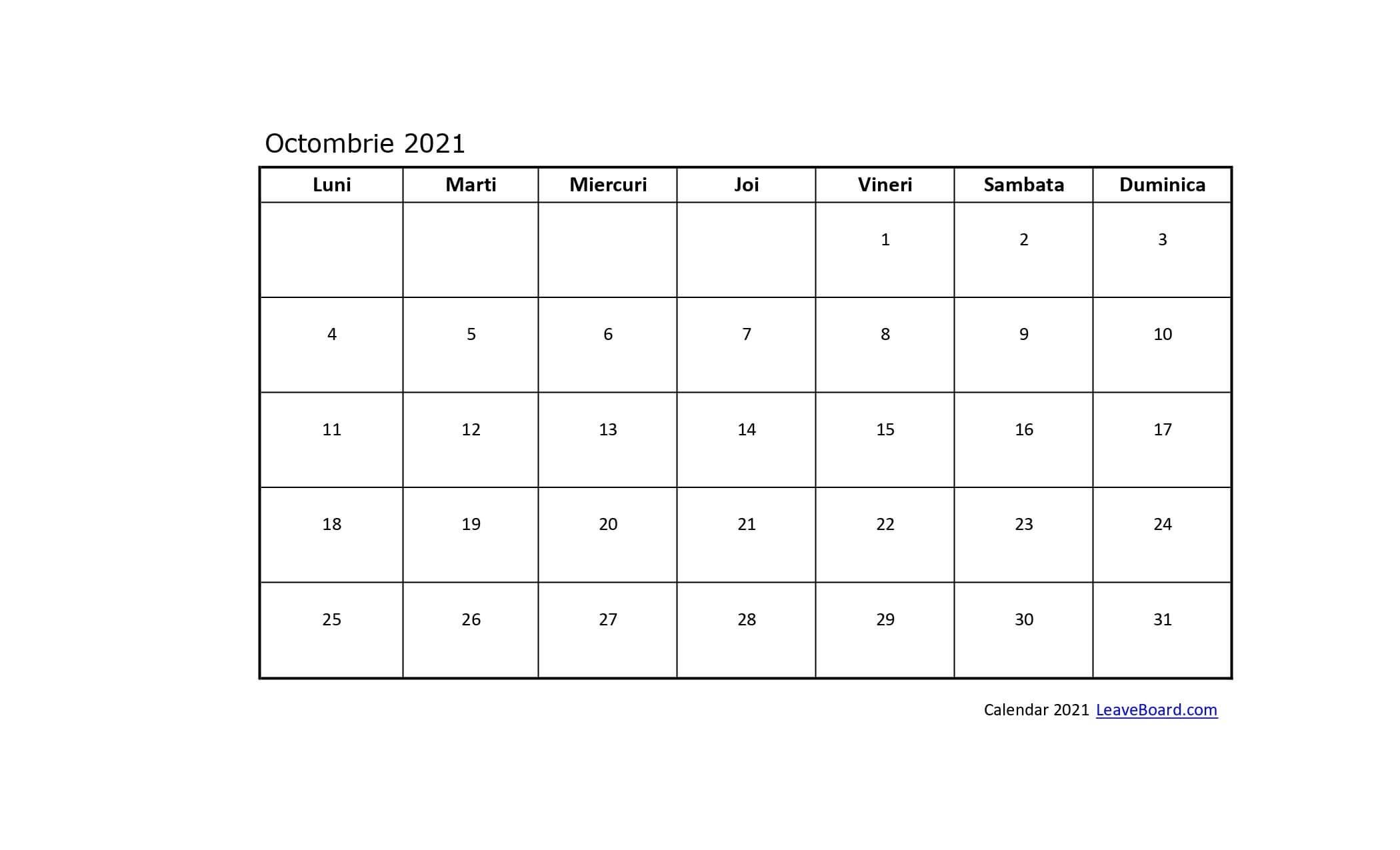 Calendar 2021 Cu Zile Libere Legale | Calendar Printables Free Templates throughout Zile Libere In 2021