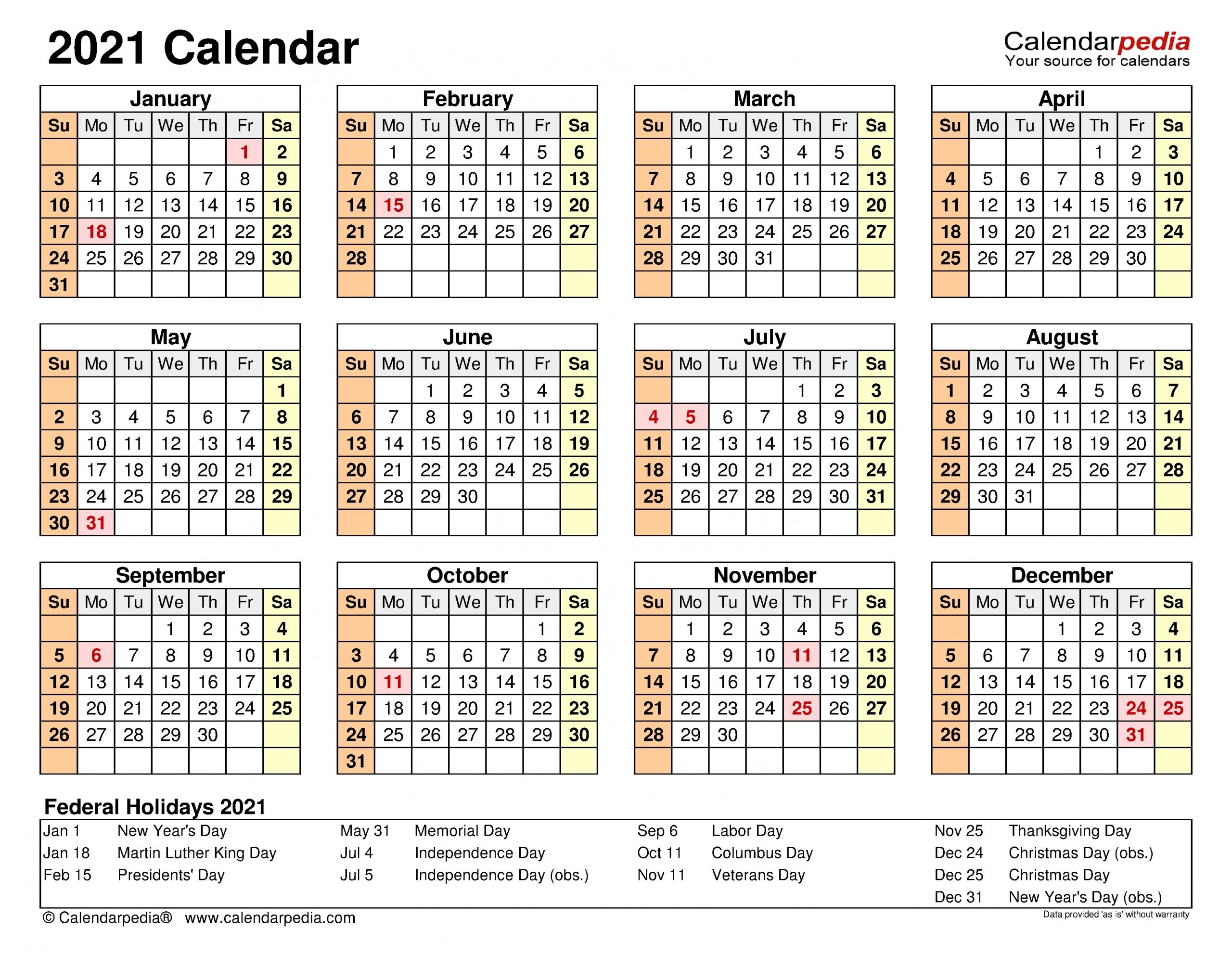 Calendar 2021 Excel | Month Calendar Printable throughout Free 2021 Calendar Excel Image