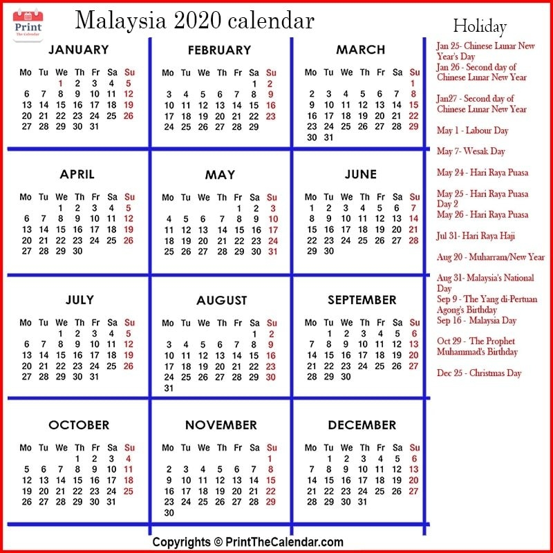 Calendar 2021 Malaysia Selangor   Lunar Calendar throughout Calendar 2021 Malaysia Image Malaysia Photo