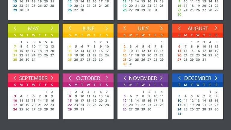 Calendar 2022 Zile Lucratoare - Nexta in Calendar 2021 Cu Zile Legale Image